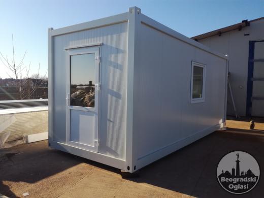 Argus INTERNO, kontejneri-kućice sa unutrašnjom konstrukcijom