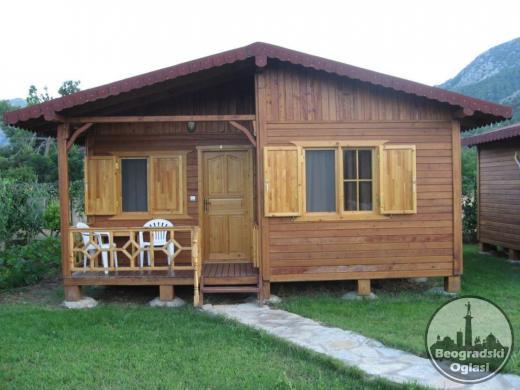 Drvene kuce FUL6 5mx5m -soba-kupatilo