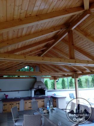 Izrada terasa ,krovova,objekata od drveta