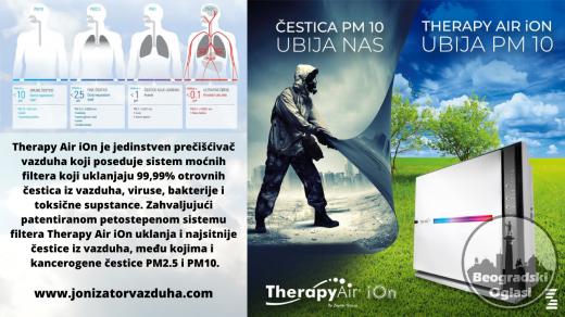 Najbolji preciscivac vazduha i najbolji jonizator vazduha – BEZ KONKURENCIJE – Zepter Therapy Air iOn