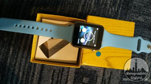A1 Plavi - Pametni Sat -Mobilni Telefon