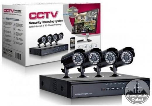CCTV Video Nadzor sa 4 i 8 Kamera