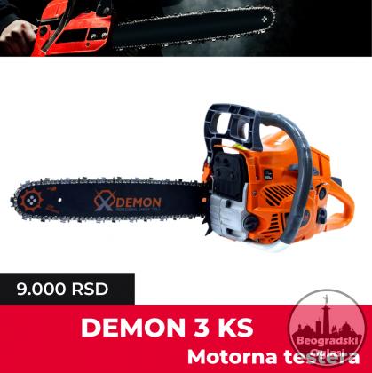Demon TESTERA 3.0ks model za 2020