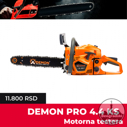 Demon Testere 4.4 KS