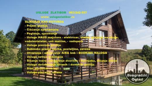 Odrzavanje apartmana na Zlatiboru, prijem gostiju, čišćenje i prijem gostiju