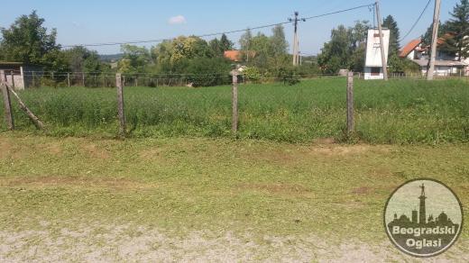 Plac u blizini jezera Duboki Potok Gasovod