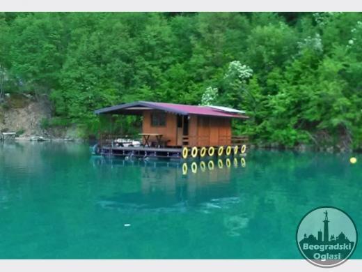 Splav Kućica na Jezeru Perućac