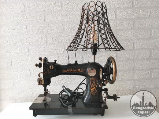 Unikatna retro lampa ADLER