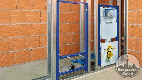 Vodoinstalaterski radovi i adaptacija kupatila