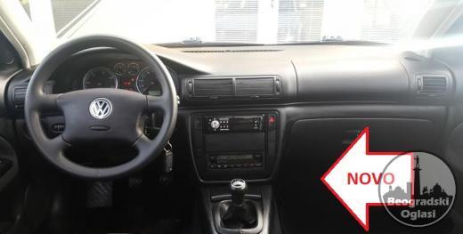 VW PASSAT B5 PLUS kožica menjača (2001-2005) FABRIČKI CRNA