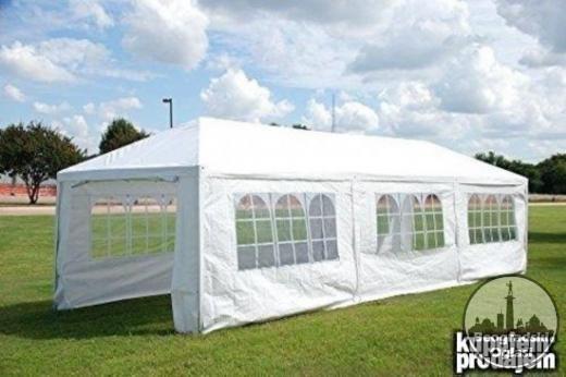 Tenda sa 8 bočnih stana 3x9 m