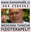 VIŠI FIZIOTERAPEUT MEDICINSKA SESTRA TEHNIČAR