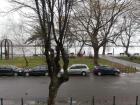 Zemunski kej, stan sa pogledom na Dunav