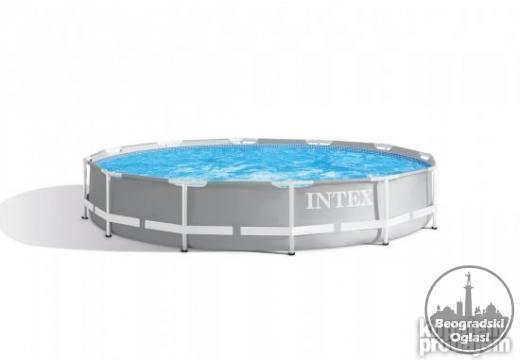 INTEX Bazen PRISM FRAME 366x76cm