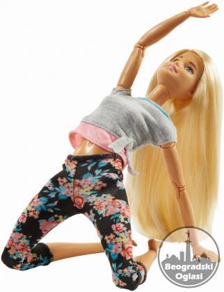 Barbie Yoga i Fitnes Instruktorka , Original Barbie Mattel Novo , Neotpakovano