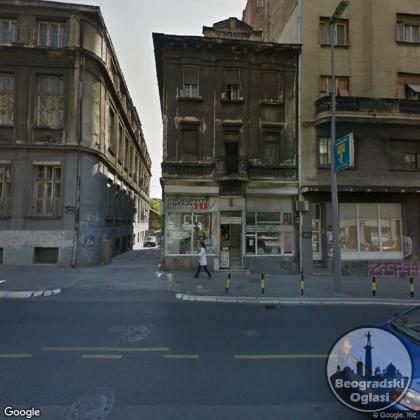 CENTAR Bg. - poslovni prostor za hostel kao i sve drugo (može i bučno, bez ograničenja), 75m2 sa svojim većim PARKINGOM