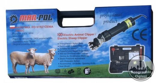 Mašinica za šišanje ovaca MAR-POL 550 W AKCIJA