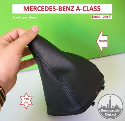 MERCEDES A-CLASS W169 kožica menjača (2004-2012) NOVO