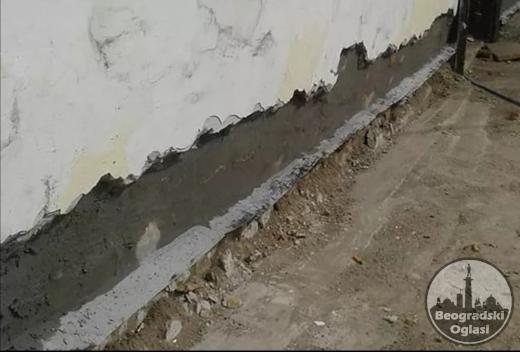 Vršimo hidroizolaciju vlažnih kuća i objekata