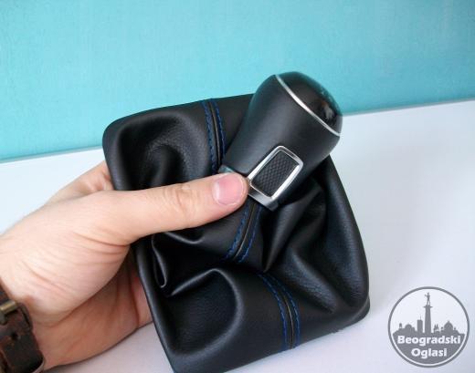 VW PASSAT B7 kožica menjača (10-14) PLAVI KONAC