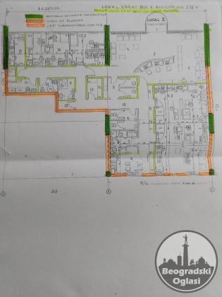 ZVEZDARA, LOKAL 234 m2 PRIZEMLJE STAMBENE ZGRADE Bulevar - Ustanička POVOLJNO