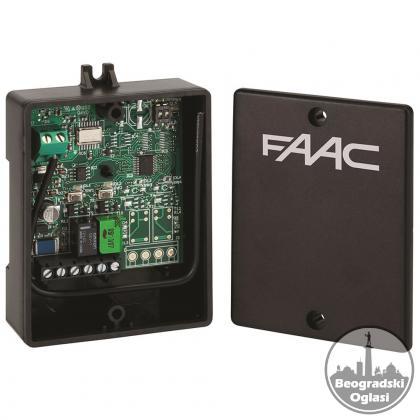 FAAC XR2 868 C dvo-kanalni eksterni (spoljni) relejni prijemnik