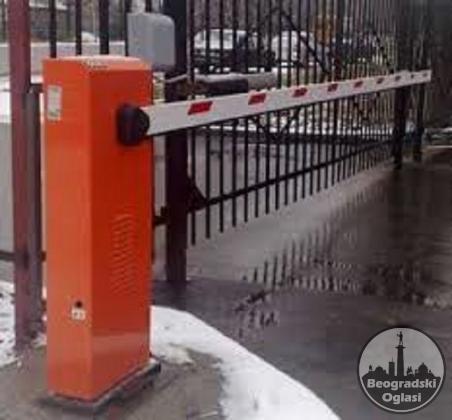 FAAC 620 standard automatska hidraulična rampa  do 5m