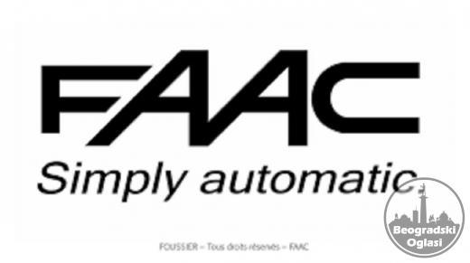 FAAC 415 230V motori za krilne kapije do 3m po krilu