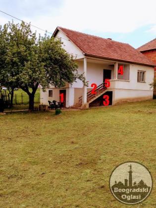 Kuća u Rekovcu pet ari placa i pomoćni objekat u dvorištu već od 17999 ev.