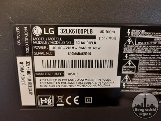 LG smart TV full HD