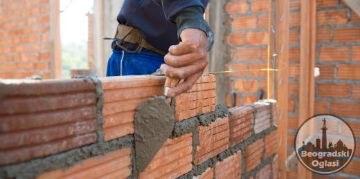 Potrebni zidari - tesari
