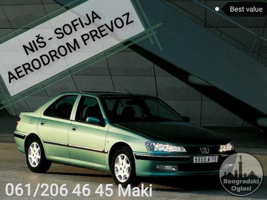 Prevoz Transfer Nis Sofija Skoplje Beograd aerodrom