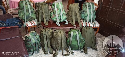 Vojni ranac maskirni i smb zeleno maslinasti 50L Volumen Cena 1000din