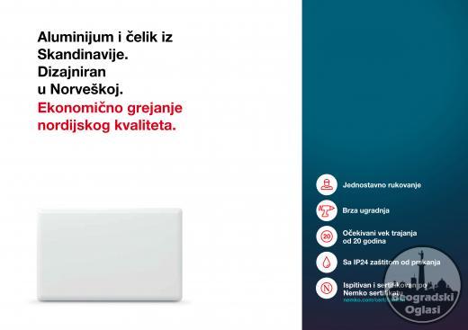 Norveški radijatori - Efikasno rešenje - Garancija 10 godina!!!