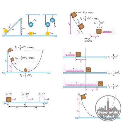 Časovi kod vas i časovi onlajn   iz  matematike ,fizike,hemij,mehanike,..
