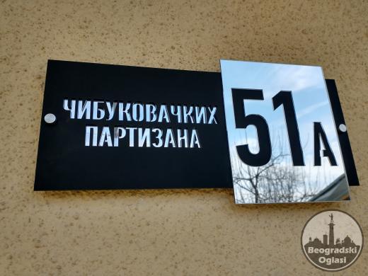 Kućni broj - Kućni brojevi - Brojevi za kuće, zgrade
