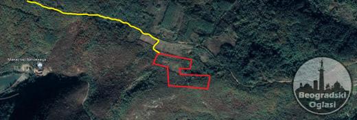 Poljoprivredno zemljiste 500 ari. 033e/m2