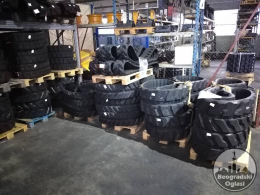 Gumene gusenice za JCB mašine