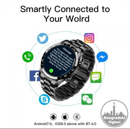 LIGE Bluetooth Smart Fitness Watch